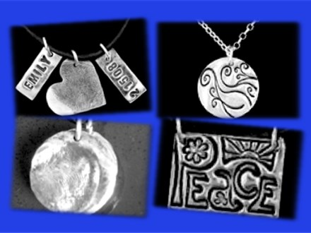 Silver Clay Jewelry at POTTERY BY YOU!