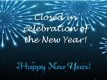 Happy New Year! Studio Closed.