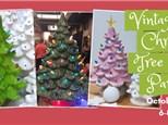 Vintage Christmas Tree Party Night 2