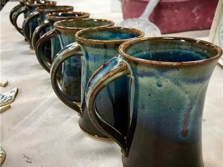 Mugs! Pottery Wheel Workshop with Amanda Bartel