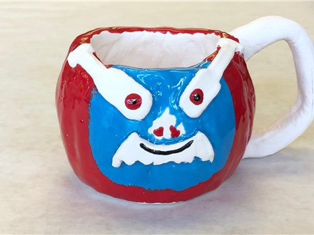 Kid's Clay - Bunk'd Clay Mug -Evening Session - 02.20.19