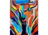 LUSH CLUB ONLY Bull Paint Class