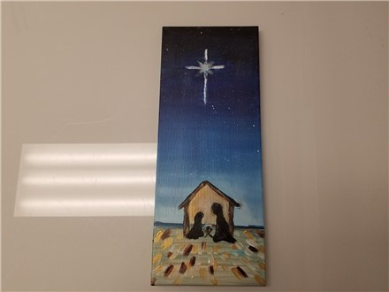 O Holy Night Canvas Class (Adult) $35