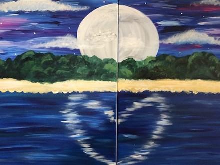 Date Night Canvas