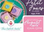 Tween Petit Fours Class