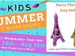 Kids Art Workshop - Paris Day 7/14