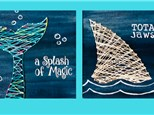 Wood String Art for Kids & Adults - August 22nd