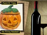 Ceramic Paint N' Sip at Valenzano Winery - October 4th: SOLD OUT!