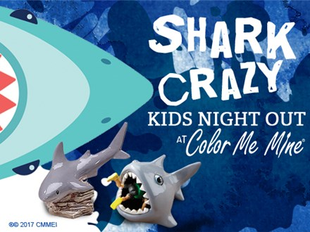 Kids' Night Out: Shark Crazy - July 26 @ 6pm