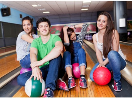 Teen Bowling Party Suburban Bowlerama