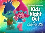 Kids Night Out, TROLLS! at Color Me Mine - Henderson, NV 01/18/19