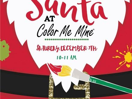 Paint With Santa Saturday, 7th at 10 AM