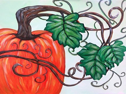 The Great Pumpkin - Canvas Class