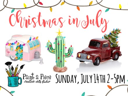 Christmas in July Painting Party - 7/14/19