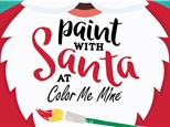 Paint with Santa December 1, 2018  9:00am to 11:00am