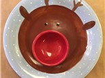 Family Pottery - Reindeer Chip and Dip - Evening Session - 12.01.17