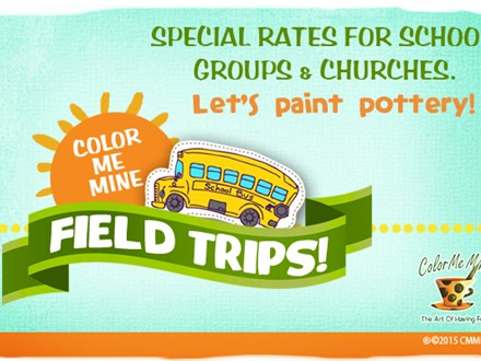 Field Trip at Color Me Mine
