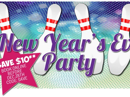 New Year's Eve - Family Friendly - 6pm to 8pm