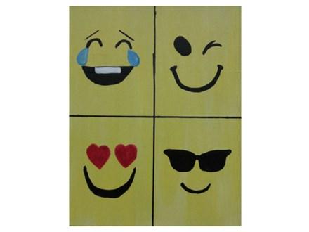 My Favorite Emoji's - Paint & Sip - Sept 8