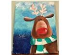 Reindeer Paint Class