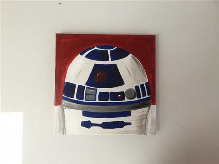 R2D2 (Jenn H) Canvas Party