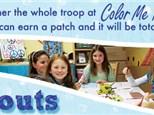 Girl Scout Badge Program at Color Me Mine