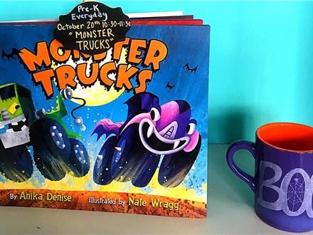 """Pre-K Story Time """"Monster Trucks"""""""