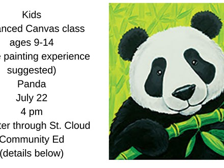Kids Community Ed Advanced Canvas-Panda