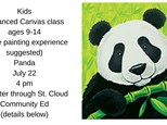 Kids Community Ed Advanced Canvas-Panda