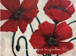 Poppy Trio Canvas Painting Event