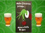 Wood Sign Art at Iron Hill Brewery - December 12th