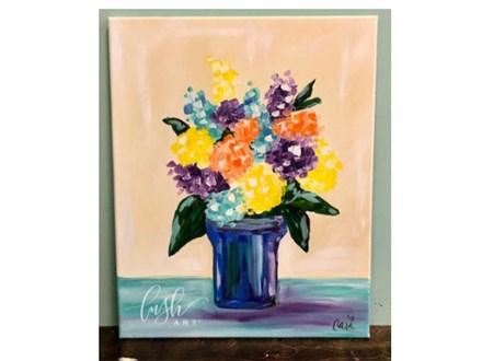 Flowers Paint Class