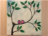 Birds of a Feather Canvas Class (Age 6 and up) $25
