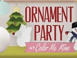 Sleepy Cat Urban Winery: Ornament Painting Party - November 17