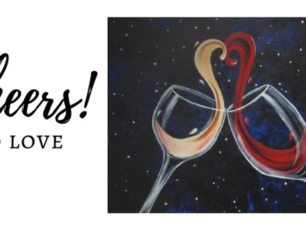 "The Brickyard Painting Party ""Cheers to Love"""