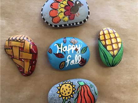 Family Rock Painting - Thanksgiving - 11.19.17