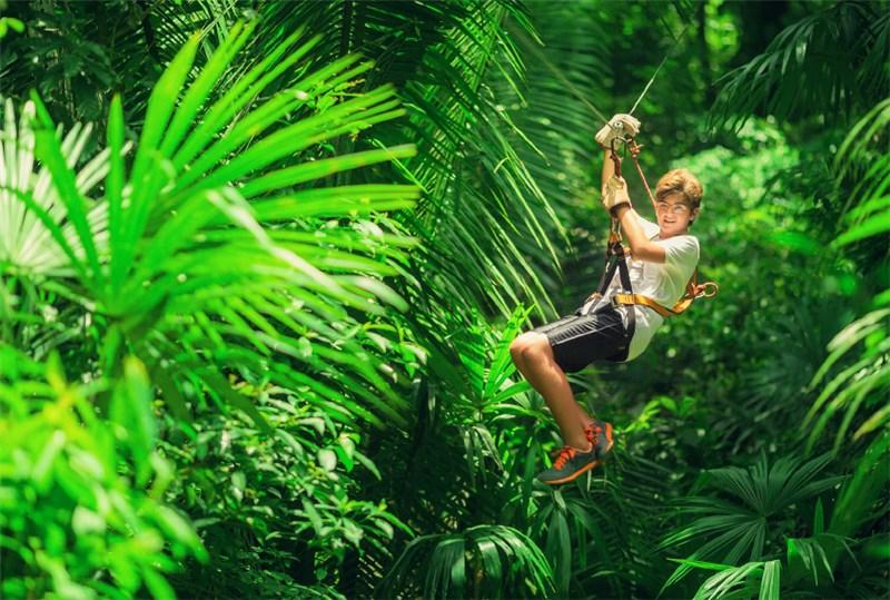 AVA Mountain Ziplining