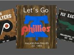 Philly Sports Teams Wood Sign Art - March 23rd