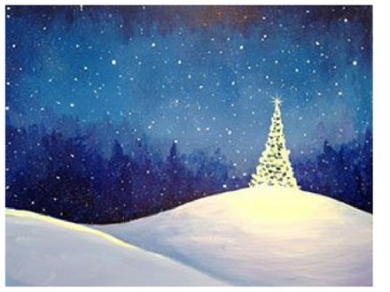 Paint & Sip - Thinking about the Holidays - Sept. 22 - 7:30pm