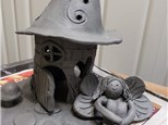 Clay Fairy or Gnome house