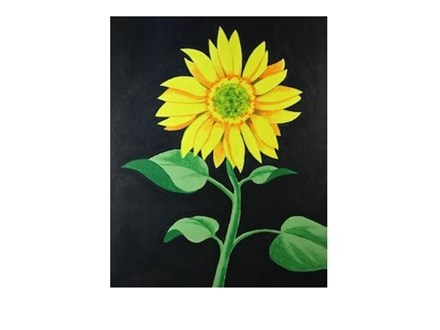 Sunflower 1 - Senior Citizen Canvas