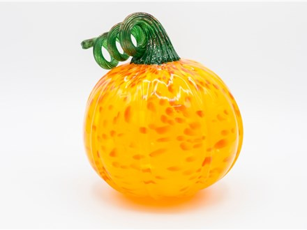 make your own glass pumpkin - october 26th