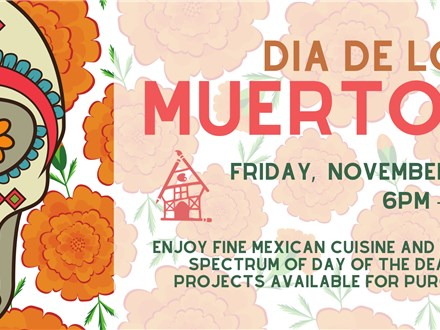 Dia De Los Muertos Celebration at Craft Haus!