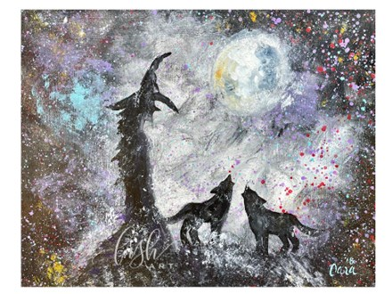 Witch & Wolves Paint Class - PERRY