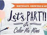 Parties for Everyone! (Up to 12 painters)