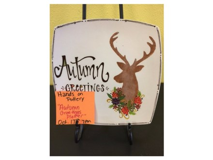 Autumn Greetings Platter - October 17th