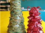 Handbuilt Clay Christmas tree