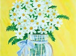 Shasta Daisies Canvas - Palisades Center