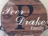 Monogram Board Art - Family Name on Circle or Rectangle - 12.22.17