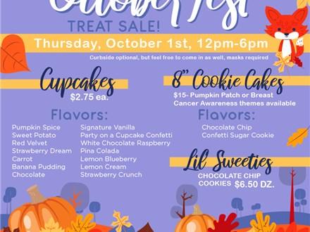 Octoberfest Pop-up Treat Sale (Thursday, October 1st)